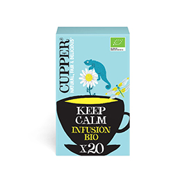 Infusión Keep Calm Cupper 20b ECO
