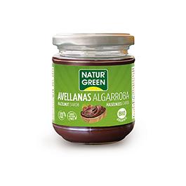Crema avellanas/algarrob 200g ECO