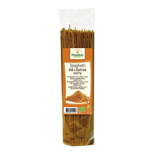 Espaguetis quinoa Curry 500g ECO