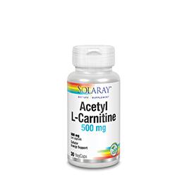 L-acetyl L-carn 500mg 30cap ECO