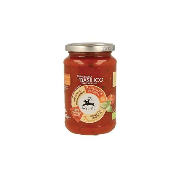 Salsa Tomate c/Albahaca 350g ECO