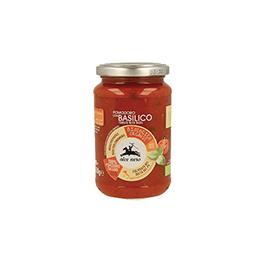 Salsa Tomate Albahaca 350g ECO