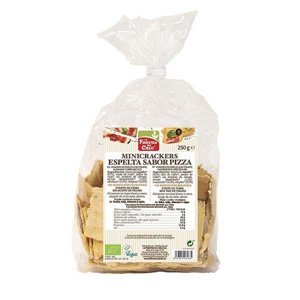 Cracker Espelta Pizza 250g ECO