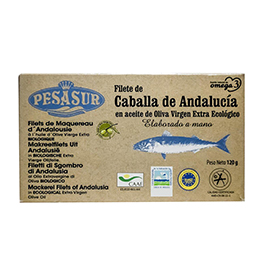 Filetes de Caballa Lata 120g ECO