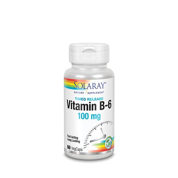 Vitamina B6 100mg 60u