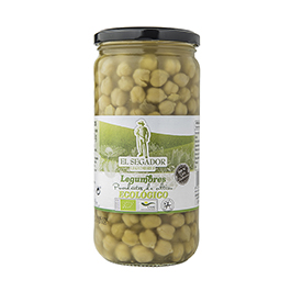 Garbanzos cocidos 450g ECO