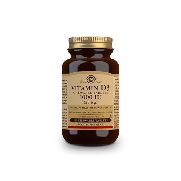 Vitamina D3 1000 UI 25mcg 100u