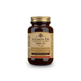 Vitamina D3 1000UI 25mcg 100comp mastic