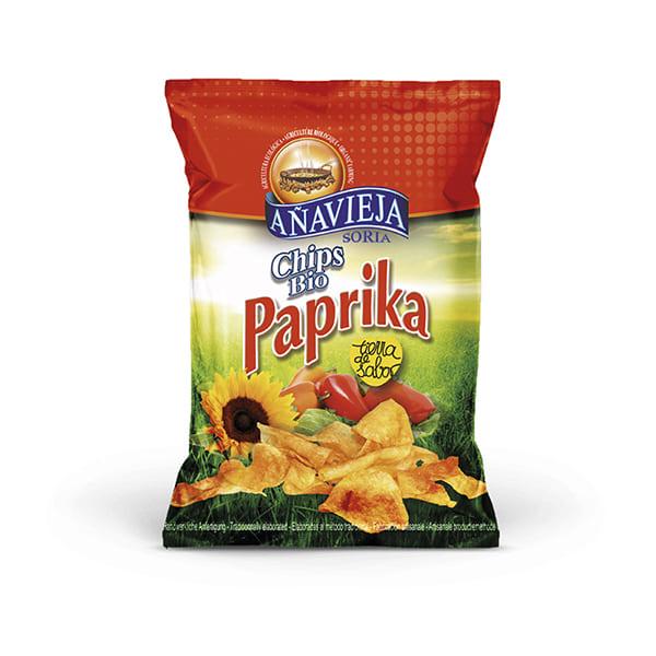 Patatas Fritas Paprika 125g ECO