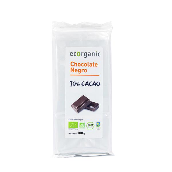 Chocolate negro 70% cacao 100g ECO