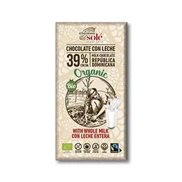 Chocolate con leche 100g ECO