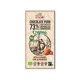 Chocolate negro 73% 100g ECO