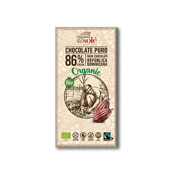Chocolate negro 86% 100g ECO