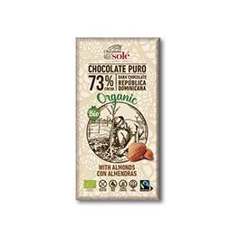 Chocolatina con leche 25g ECO