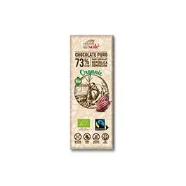 Chocolatina negro 73% 25g ECO