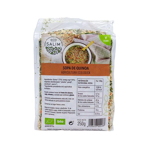 Sopa quinoa 250g ECO