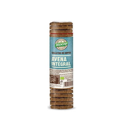 Galleta Avena Int 250g ECO