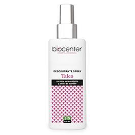 Desodorante spray talco 100ml ECO