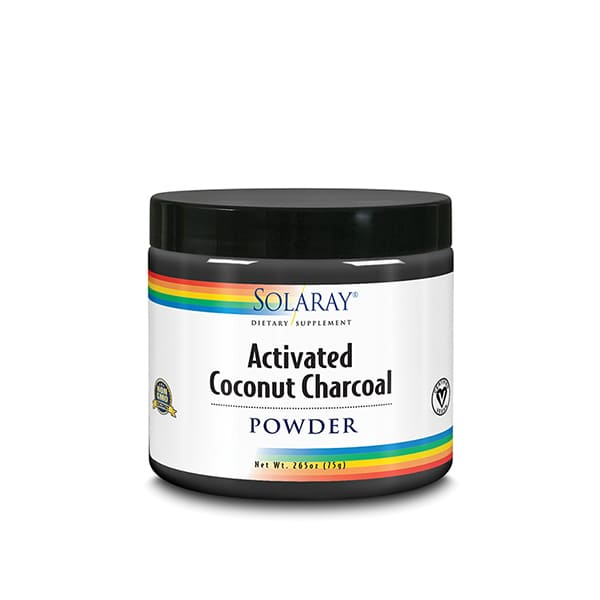 Carbon Vegetal Coco Activado 75g ECO