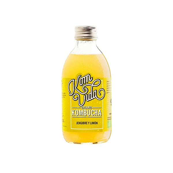 Kombucha jengibre/limón 250ml ECO