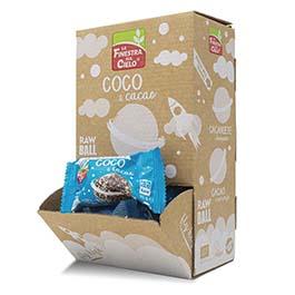 RawBall coco/cacao 25g ECO