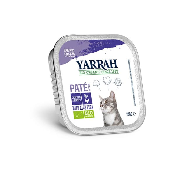 Tarrina gato pollo/pavo 100g ECO