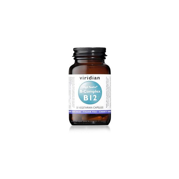 High Twelve Vitamina B12 + B-Complex 30u