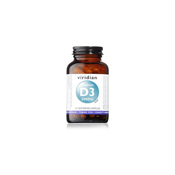 Vitamin D3 2000 IU 60u