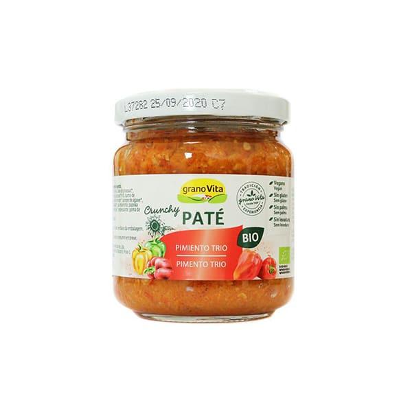 Pate crunchy pimiento trio 175g ECO