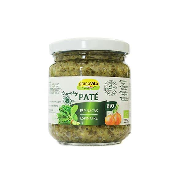 Pate crunchy espinacas 175g ECO