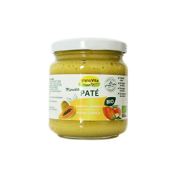 Pate Mousse papaya-mango 175gECO
