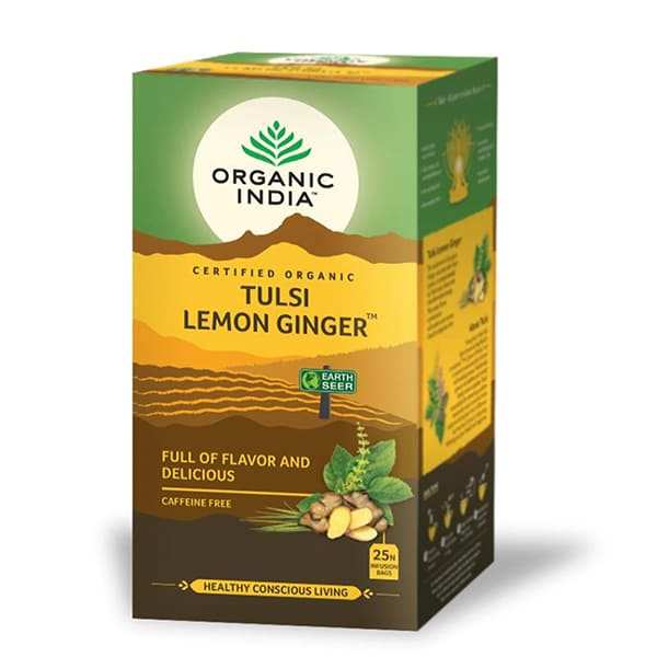 Tulsi lemon ginger 25bols ECO