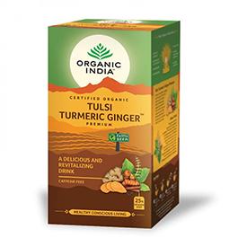 Tulsi turmeric ginger 25bol ECO