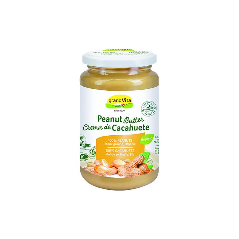 Crema cacahuete mouse Granovita 350g ECO