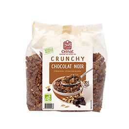 Crunchy Chocolate Negro 500g ECO