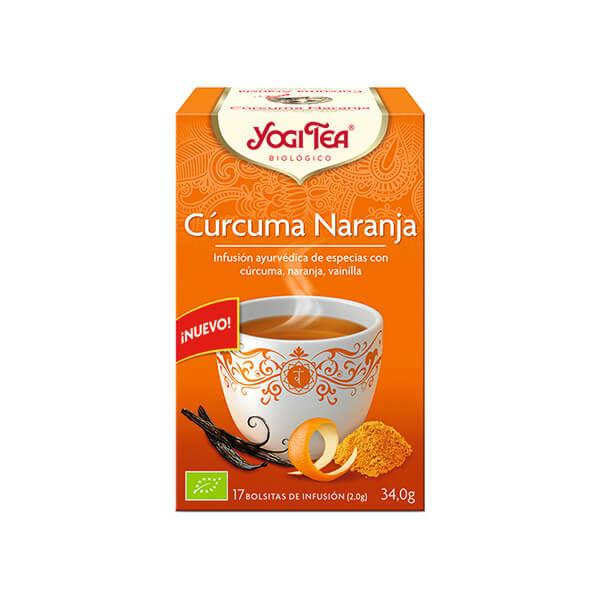 Infusion curcuma/naranja 17x1.8g ECO