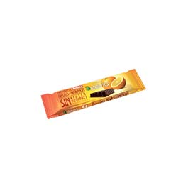 Chocolatina stevia negro/naranja 35g ECO