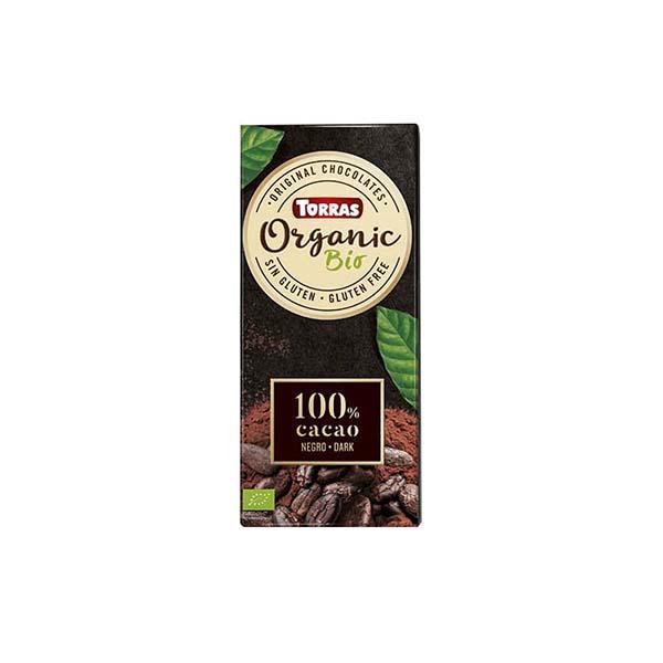 Chocolate 100% cacao 100g ECO
