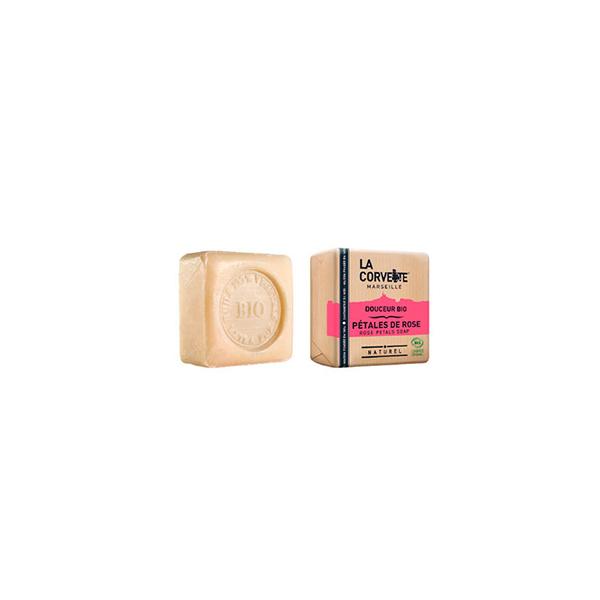 *Jabón pétalos de rosa 100g ECO