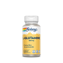 L-glutamine 500mg 50caps