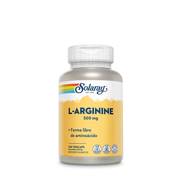 L-Arginine 500mg 100u