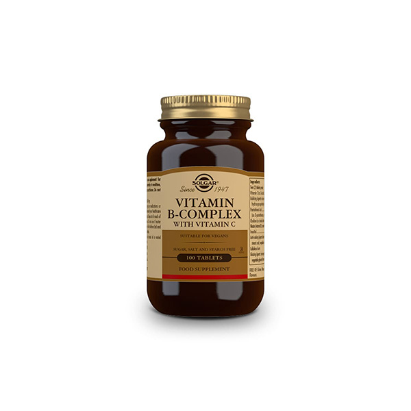 Vitamina B Complex con Vitamina C 100u
