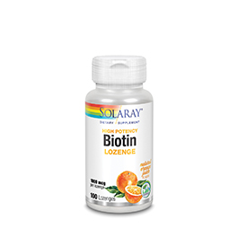 Biotin Subliguales naranj 1000MCG 100com