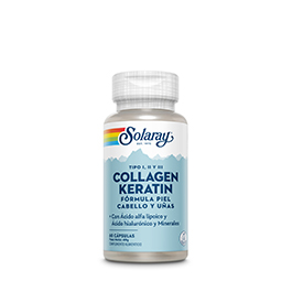 Collagen keratin 60cap