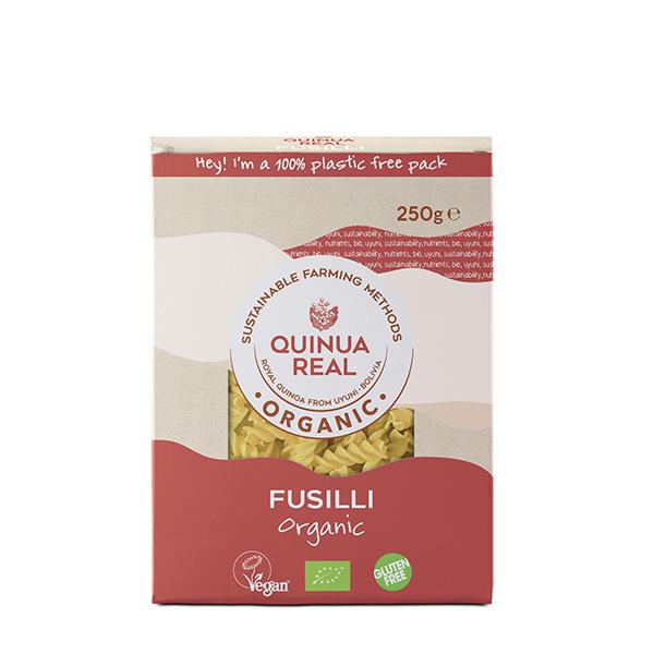 Fusilli Arroz y Quinoa s/g ECO