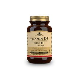 Vitamina D3 4000 UI 100mcg 60u