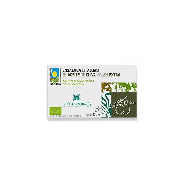 Ensalada Algas c/Aceite 120g ECO