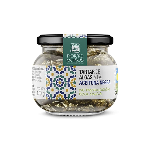 Tartar de Algas c/Oliva Negra ECO