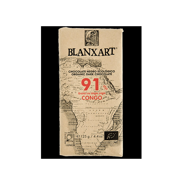 Chocolate Congo 91% Blanxart 80g ECO