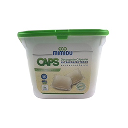 Detergente Cápsulas Mimidu 20u ECO